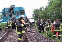 Acerra, investito da un treno in corsa: giovane vittima