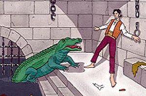 Galleria Borbonica: ritrovato il leggendario coccodrillo assassino