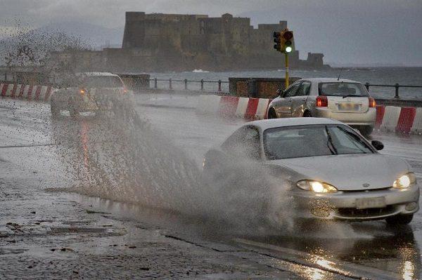 Meteo Napoli: temporali e forti piogge in arrivo