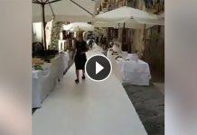"""Napoli, Pallonetto chiuso per un matrimonio: """"arroganza e inciviltà"""""""