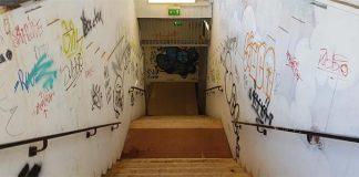 Cumana di Napoli: stazione Edenlandia di nuovo vandalizzata