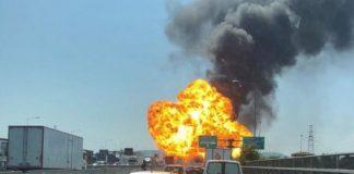 Incendio a Bologna: campano il conducente del camion