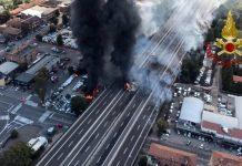 Incendio a Bologna: campano rimasto gravemente ferito