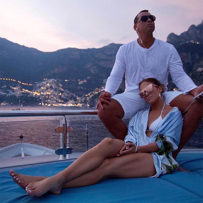 Jennifer Lopez e A-Rod a Capri: fan in delirio