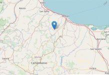Terremoto in Molise: registrate 27 scosse in una notte