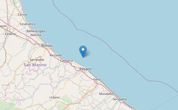 Terremoto oggi, Marche: scossa di magnitudo 3.5