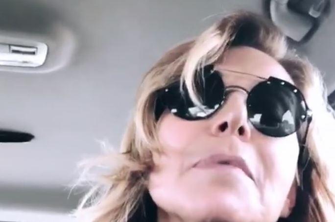 Barbara D'Urso senza trucco nelle sue stories Instagram