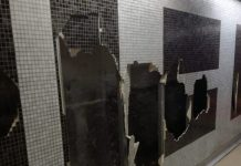 Metropolitana Liena 1, Salvator Rosa: stazione dell'arte devastata