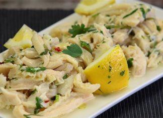 Ricetta della trippa sale e limone dallo street food partenopeo