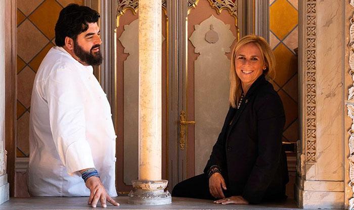 Antonino Cannavacciuolo e la moglie festeggiano un importante anniversario