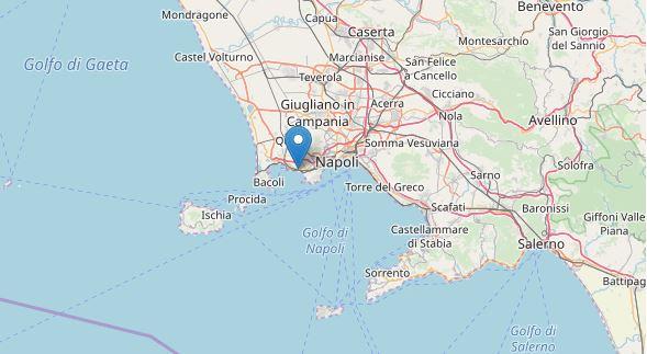 Terremoto Napoli, zona flegrea: sciame sismico più intenso