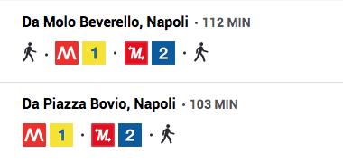 Come arrivare alla Gaiola in metro