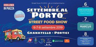 Settembre al Porto, al Granatello l'imperdibile Street Food Show