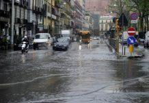Meteo Napoli, allerta con criticità di colore giallo
