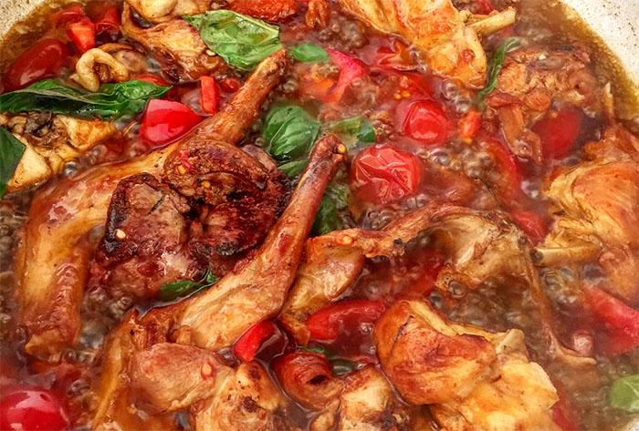 Ricetta coniglio all'Ischitana: il piatto di 2500 anni fa
