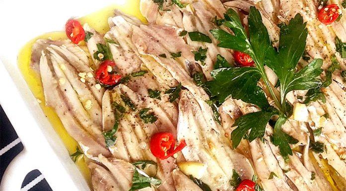 Ricett alici marinate alla napoletana: povere ma nobili