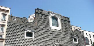Bugnato a punta di diamante, Chiesa del Gesù Nuovo a Napoli: tutti i segreti