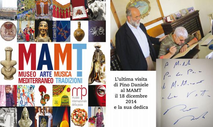Museo Virtuale su Pino Daniele al MAMT di Napoli