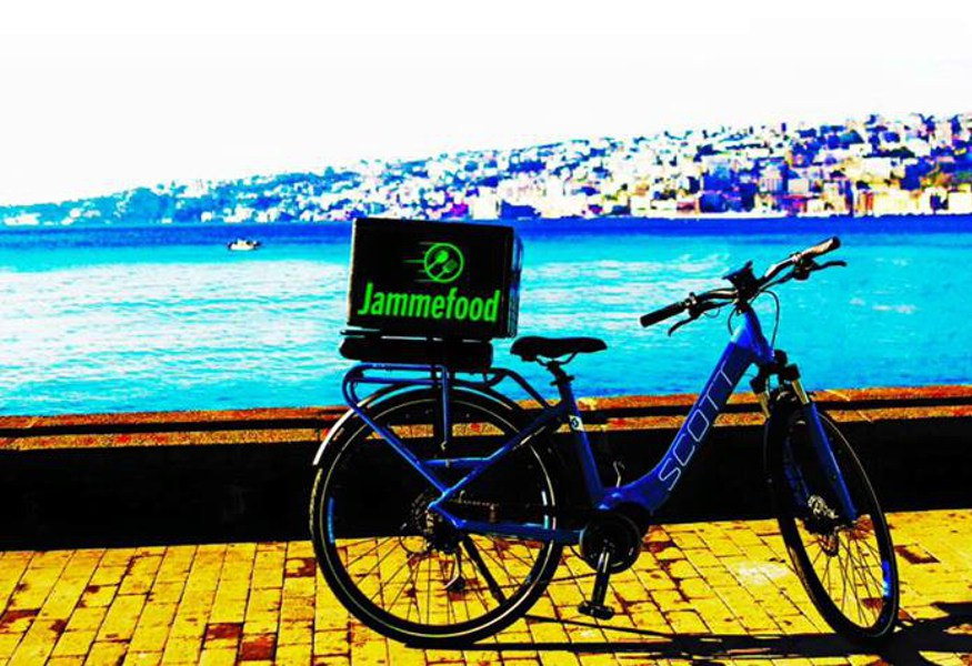 Napoli JammeFood App, cibo a domicilio ecosostenibile