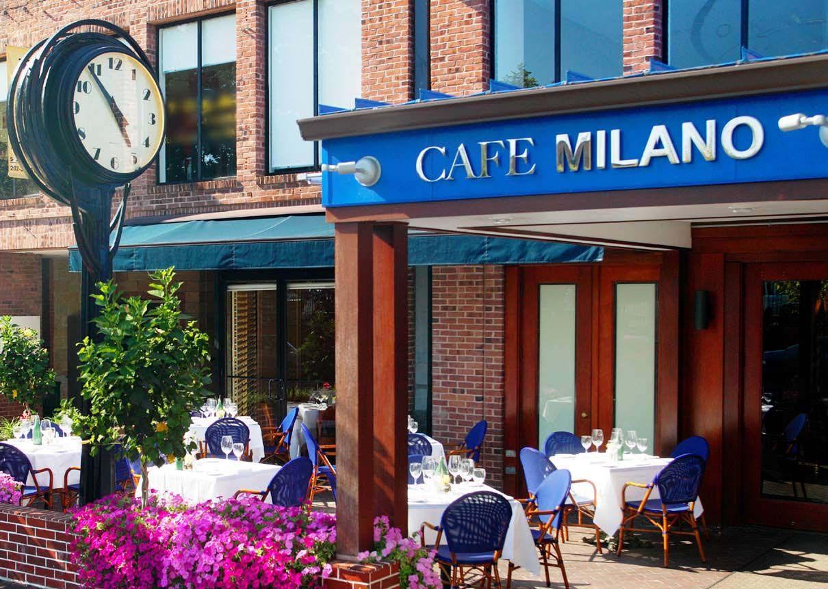 Cafè Milano Barack Obama