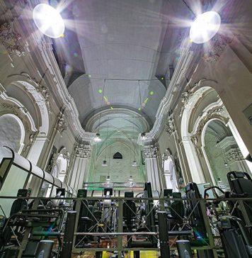 Chiesa Santa Maria a Cappella Vecchia è una Palestra