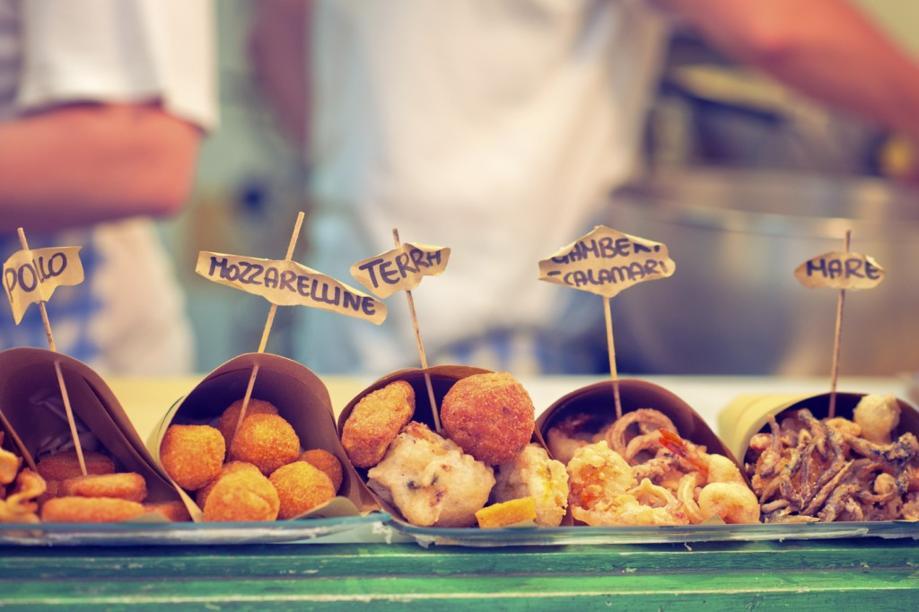 Migliori friggitorie a Napoli, street food