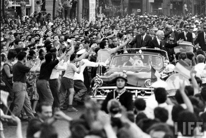 John Kennedy a Napoli