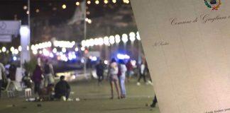 Lettera del vicesindaco di Giugliano a Nizza