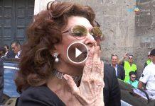 Sophia Loren cittadinanza onoraria Napoli video