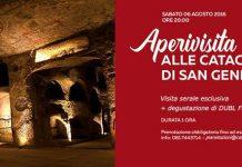 Catacombe di San Gennaro: aperivisita tra bellezza e mistero