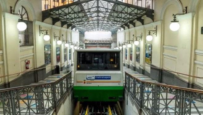 Chiusura Funicolare Centrale Napoli, stop e disagi