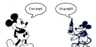 La Sorgente, Topolino Micky Mouse somiglianze Walt Disney