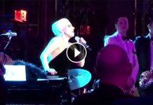 Lady Gaga canta 'O sole mio (VIDEO)