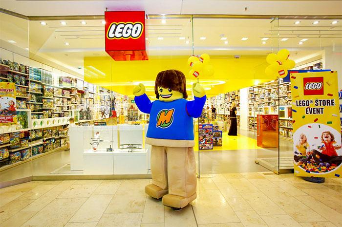 Lego store centro commerciale campania