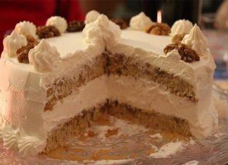 Ricetta torta sorrentina con il sapore inconfondibile delle noci della penisola