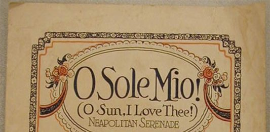 """""""'O sole mio"""" storia di una canzone ispirata dal volto dell'amata"""