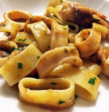 Calamarata napoletana: la ricetta delle tradizione