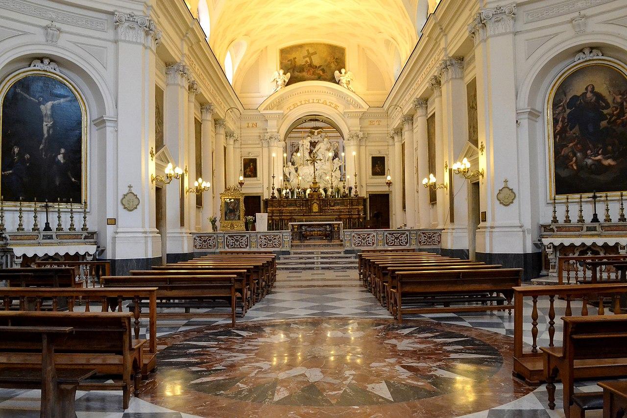 Chiesa Santissima Trinità alla Pignasecca - Pellegrini