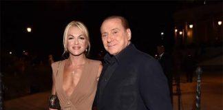 Berlusconi e Francesca all'altare come testimoni di nozze