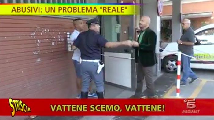 Luca Abete e i parcheggiatori abusivi: minacce fuori la Reggia di Caserta