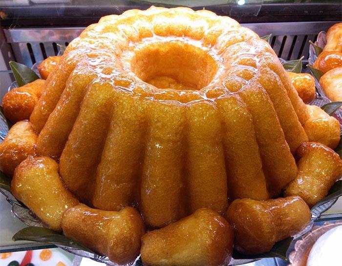 Ricetta originale della torta babà napoletana