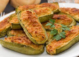 Ricetta delle zucchine ripiene alla napoletana
