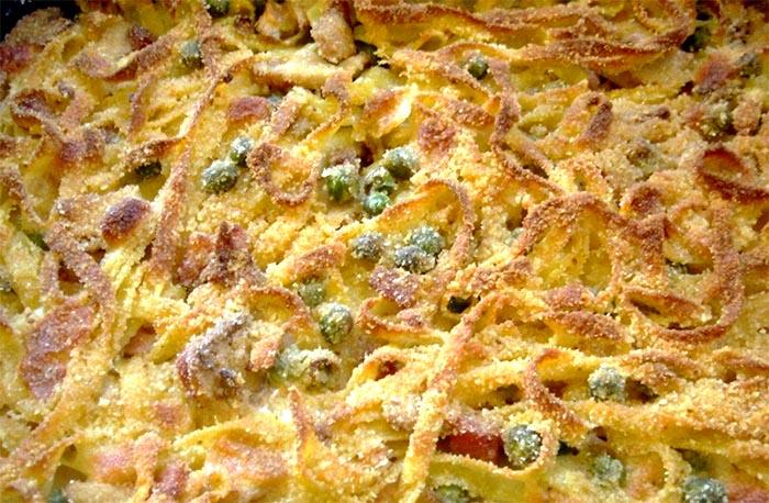 Ricetta crostata di tagliatelle napoletana dal gusto croccante