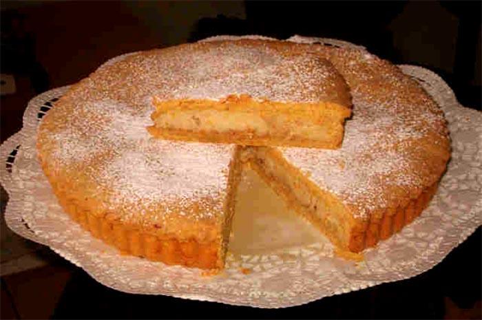 Ricetta della torta di sfogliatella frolla napoletana