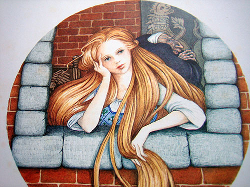Rapunzel (o Raperonzolo) è ispirata a Petrosina, la fiaba napoletana