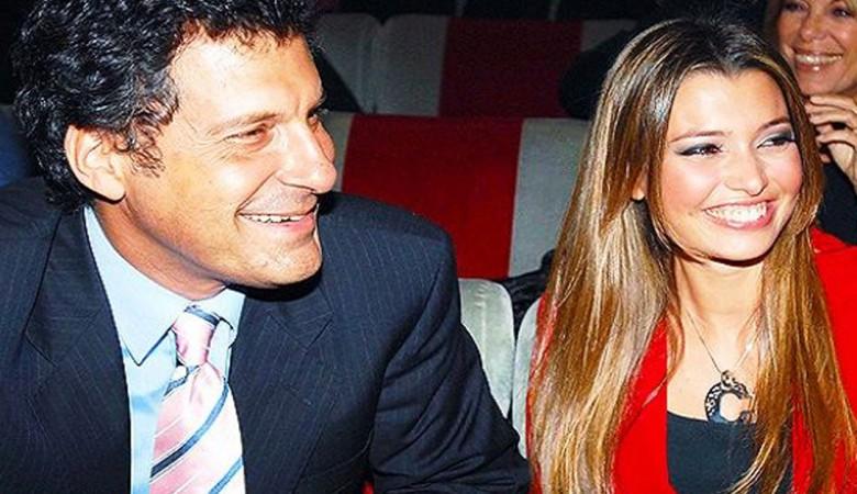 Fabrizio Frizzi e la moglie Carlotta