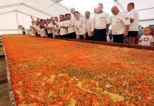 Lasagna più lunga del mondo