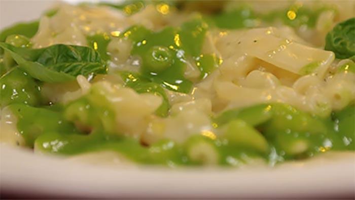 Ricetta pasta con crema di patate e basilico di Antonino Cannavacciuolo