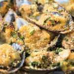Ricetta cozze ripiene coi salumi o al forno e gratin