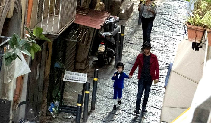Alessandro Siani ai Quartieri Spagnoli per girare il nuovo film